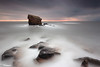 Charlie Goes Long (Dave Brightwell) Tags: longexposure sky seascape sunrise canon coast rocks northumberland coastal northsea northeast hitech redsnapper bwnd davebrightwell