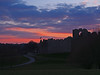 Photo of Sunset over Oystermouth Castle 5th April 2013 (3)
