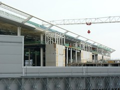 Terminal 2 Development (detail) - 7 April 2013 (John Oram) Tags: heathrow lhr terminal2 egll p1170278