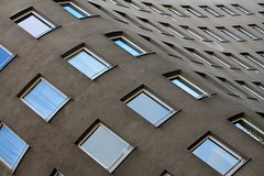 Bonjour tristesse (RosLol) Tags: windows building berlin architecture germany architettura bonjourtristesse finestre berlino schlesischestor lvarosizavieira roslol