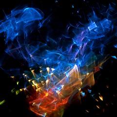 Lights Go Out (Reciprocity) Tags: light glass colours 35mmfilm refraction analogue lensless sprites caustics photogram diffraction lightart lightpatterns shadowgraph experimentalphotography reciprocity refractograph lenslessphotography ls182 refractionpatterns s24514a bs1003