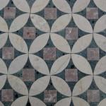 Marble mosaic: circles & squares thumbnail