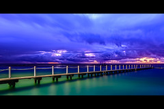 Narrabeen and them (Rodney Campbell) Tags: longexposure water pool clouds sunrise twilight australia newsouthwales narrabeen northnarrabeen gnd09