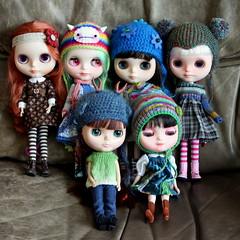 All the Blythe girls together