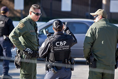 BP & OFO at Border Crossing (San Ysidro) (CBP Photography) Tags: california female sanysidro bp borderpatrol 2012 bordercrossing ofo southwestborder officeoffieldoperations