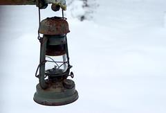 lantern. (michael pollak) Tags: ausflug kalt eis frhling waldviertel woodquarter