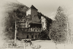 Grad kamen (gregork.) Tags: panorama castle stone landscape blackwhite slovenia grad arhitektura begunjenagorenjskem