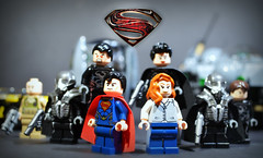 LEGO Man of Steel Reviews are Here! (MGF Customs/Reviews) Tags: man black dc lego general steel super heroes universe zero sets zod smallvile