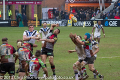 Quins v Bath 13th April 2013 (PriceyBoy2010) Tags: england sport bath rugby somerset quins harlequins quinsrugby joegray nickeaster