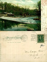 Upper Brandywine, Du Pont's Powder Mills, Wilmington, Del. (Delaware Public Archives) Tags: industry water river factory business explosives