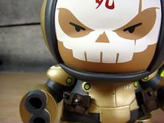 Heavy Trooper Vasquez (huckgee) Tags: vinyl kidrobot huck dread squad gee custom dunny mech vasquez huckgee utmc