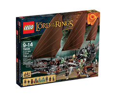 LEGO The Lord of the Rings 79008 - Pirate Ship Ambush - BoxArt (THE BRICK TIME Team) Tags: brick lego lord lotr rings herr hdr ringe