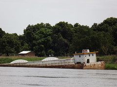 old barge (vincentello) Tags: river south sudan nile nil fleuve juba sudsoudan