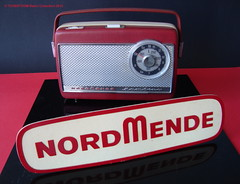 NORDMENDE Portable Transistor Radio (W-GERMANY 1964) (MarkAmsterdam) Tags: portable radio tableradio kitchenradio plastic plaskon metal tube tuberadio transistor transistorradio vintage electronics markamsterdam mark meijster markmeijster old collectible forties fifties sixties 40s 50s 60s handheld pocketradio design retro colorful coatradio fashioned early electrical equipment battery atomic eames era ad advertising sign advertisement carradio tv phonograph tovertoom collection dealer sheet folder brochure portfolio booklet engineering pickup console fernseher musiktruhe phono cartridge tsf magnetophon classic museum tape recorder deck catalog