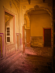 Light in the Courtyard (tombarnes20008) Tags: india august jaipur rajasthan citypalace maharaja 1732 2011 1729 sawaijaisinghii