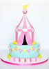 (Icing for Joy) Tags: carnival cake circus birthdaycake circuscake childrenbirthday childrencake carnivaltent