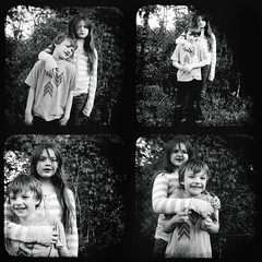 May 2013 (Mandy Bryant (The Light Fantastic)) Tags: blackandwhite childhood children square grainy 75 grungy argus ttv