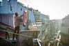 lisbon, portugal. (aubreyrose) Tags: travel sunset dog portugal lisbon clothesline frommybalcony