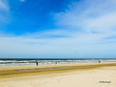 Egmond aan zee (Wilf place) Tags: blue sea holland beach water clouds coast air noordzee wolken wave zee lucht kust golven