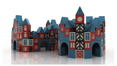 Wooden Building Block 3D Model 01 (Sidewinder Partnership) Tags: door city roof building brick window wall architecture vintage town timelapse construction cg triangle cityscape arch village apartment structure clocktower cube highrise animation gloss block hd build townscape wedge scandinavian cgi construct herringbone woodenblocks motiongraphics woodenbricks woodenbuildingblocks woodenconstructionsettoybuildingblocks