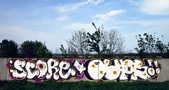SCORE & OUPS (ScoRe21:WoTS!) Tags: city graffiti pieces crew romania score oups trackside bacau wots