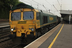 66555 6C14 - Durham (Rob390029) Tags: station durham railway heavy haul freightliner heavyhaul 66555