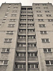 Tower Block (Scott Jones Photography) Tags: camera urban canon industrial shropshire telford hadley compact g9 manorheights