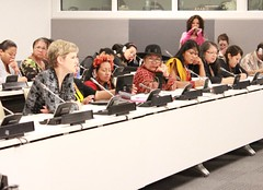 Supporting Indigenous Women Leaders at the UNPFII (Rosa Luxemburg StiftungNew York Office) Tags: un madre indigenousissues unpfii