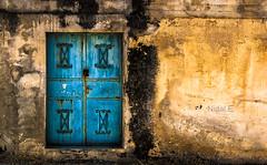 Door #5 (Nidal.Elwan) Tags: door old house art window wall israel doors palestine westbank ramallah nablus jerusalem olympus walls past zuiko israeli  kfar evolt nidal palestinian e500  kufr nidale       s95              elwan qaddum kadum  needoo77