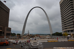 St. Louis Arch (Trucks, Buses, & Trains by granitefan713) Tags: arch saintlouis stlouis stlouisarch touristattraction ms missouri city downtown