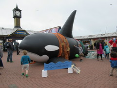 27th, Take a selfie with the dolphin IMG_3215 (tomylees) Tags: brighton sussex pier july 2016 27th wednesday