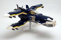 X-Plane - right (SyBricks) Tags: sylontw sylon xwing x plane aircraft airplane dieselpunk dieselpulp moc lego skyfi wing wings