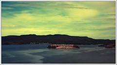 Northern Sky (kurtwolf303) Tags: sweden schweden skandinavien scandinavia europe e4 landscape landschaft insel island sky himmel water wasser dramatic dramatisch colorfulsky farbig olympusem1 omd microfourthirds micro43 systemcamera mirrorlesscamera hills sverige travelphotography reisefotografie unlimitedphotos 250v10f topf25 topf50 500v20f topf75 750views 800views