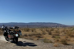 """Piataforma Solar"", Tabernas (Giorgio Pongiluppi) Tags: moto bmwgs adventure andalusia deserto spagna sud itinerari paesaggio"