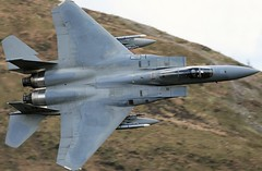 Reaper (Dafydd RJ Phillips) Tags: combat aviation plane fighter pilots jet roundabout wales snowdonia mach loop low level united states air force america usa usaf afb lakenheath f15 f15c grim reapers 493rd