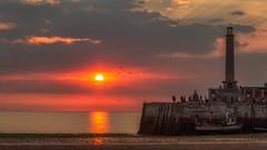 Margate Sunset (LeePellingPhotography.co.uk) Tags: beach birds boat clouds coast fishing isle lighthouse margate sand seascape sky sunset thanet turner