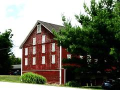 Lincoln Way Barn (e r j k . a m e r j k a) Tags: pennsylvania adams mcknightstown barn rural country lincolnhighway us30 erjkprunczyk posterize