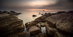 Coastal erosion (canon-Tom) Tags: rocks beach landscape seascape sea water waves sun sunset sunrise sunlight light exposure sony nature travel coast sky clouds taiwan taipei 6000