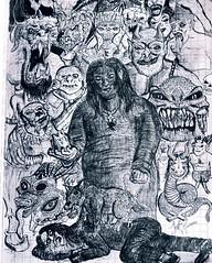 Reunin infernal (ShaffyWarrior) Tags: demonios monstruos monster dibujo draw dibujando shaffywarrior satanic ilustracion