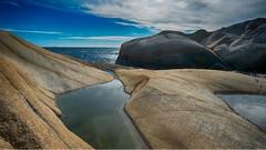 Fuglevika today (la1cna) Tags: 21mm ruralexplorer landscape norge sea seascape norway colors color textures northseatrail kysten fujifilm rural walking archipelago hiking