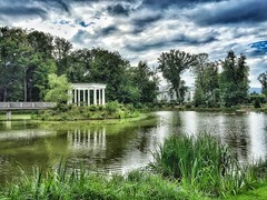 """Lake at """"Kleiner Tannenwald"""" in Bad Homburg (lapideo) Tags: blue water summer sky sea green taunus germany badhomburg landscape nature lake park alle"""