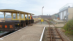 Volks Railway, Car No. 9. (ManOfYorkshire) Tags: magnus volk volks railway train electric worlds oldest operating tramway brighton sussex seafront seaside halfway station no9 car car9 pastonplace westbound vr