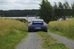 "997 turbo - 012 (Erkka Suominen) Tags: ""cobalt blau porsche"" blue ""bridge gantry"" nürburgring ""porsche 911 turbo"" ""911 ""997 ""pwr700"" ""evoms evt775"" ""evt775"" ""nürburgring bridge pccb"