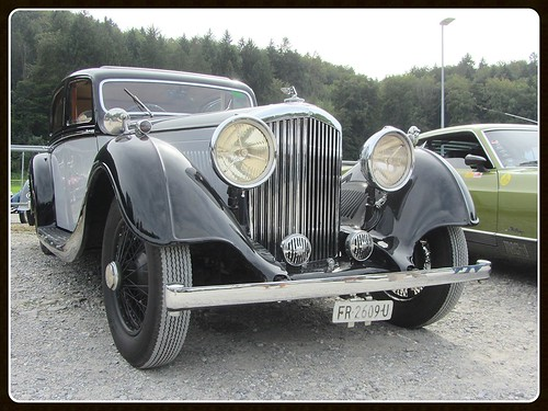 Bentley 3½ (4 ¼ Litre ?) Sports Saloon by Park Ward, 1934-37
