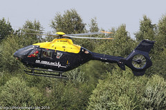 G-WONN - 2007 build Eurocopter EC135 T2+, inbound to the Heliport at Barton (egcc) Tags: 0597 airambulance arrius babcock barton cityairport ec135 ec135t2 egcb eurocopter gwonn helicopter lightroom manchester turbomeca