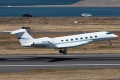 N524EA (sabian404) Tags: n524ea gulfstream g650er g650 glf6 gvi cn 6012 portland international airport pdx kpdx