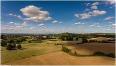 Walton Hall and landscape aerial landscape (nhawtin) Tags: flickrelite phantom dji landscape aerial