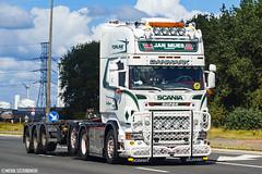Scania R500 V8 Topline - Jan Mues / DBT Logistics (B) (Micha Szczerbowski) Tags: scania r500 v8 topline jan mues dbt logistics naczepa podkontenerowa boogie tuning