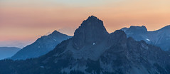 Cathedral Rock at sunset (mattsj1984) Tags: mountains landscapes mountrainier cascades cathedralrock