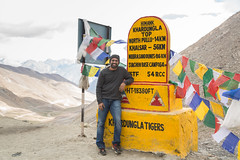 DP at Khardung la Top (SaiKiranKanuri) Tags: lehtrip khardung la top himalayas topoftheworld highest motorable road